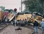 Construction Worker Killed When Train Derails