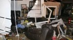 Five Injured When SUV Crashes Into Home